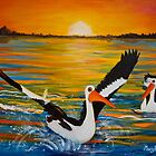 Pelicans of Marlo by Marg Pearson