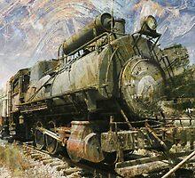 Steam Locomotive by Robert Ball
