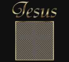 JESUS Cross optical illusion by Sᴄᴏᴛᴛ E. Mᴏʀʀɪs †