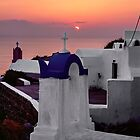 Oia Sunset by James Watkins