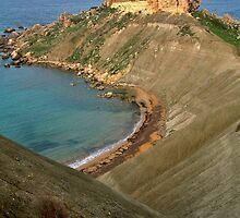 Qarraba Rock in Golden Bay by Victor Micallef