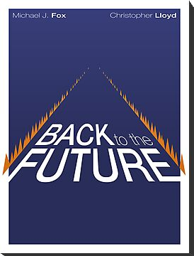 Minimalist Back to the Future Poster by BCosta13