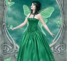 Emerald Birthstone Fairy by Rachel Anderson