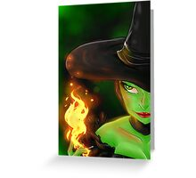 Witchy Woman Greeting Card