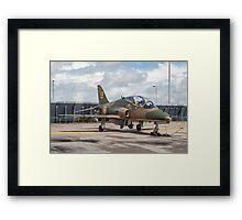 """Hawker-Siddeley Hawk T.1 XX184/19 - """"Hawkfire"""" Framed Print"""