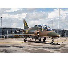 "Hawker-Siddeley Hawk T.1 XX184/19 - ""Hawkfire"" Photographic Print"