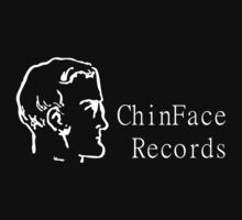 ChinFace Records (white) by chinfacedesigns