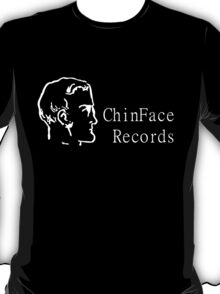 ChinFace Records (white) T-Shirt