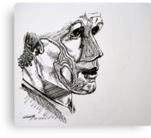 Inline Matt Smith Canvas Print