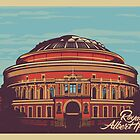 Royal Albert Hall vintage style illustration by glpHQ