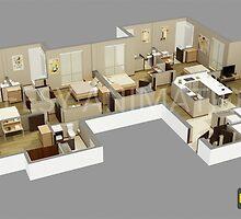 3D Architectural Rendering | 3D Architectural | 3D Architectural Design |3D Architectural Company by thecheesy