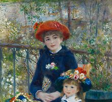 Pierre-Auguste Renoir - Two Sisters by TilenHrovatic