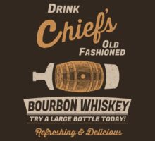 Chief's Old Fashioned Bourbon Whiskey by jabbtees