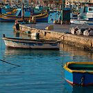 Marsaxlokk Malta - First light by Edwin  Catania