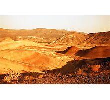 Painted Hills desert on redscale film fine art wall art - Marte Photographic Print
