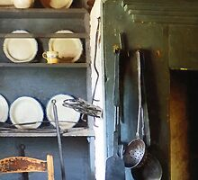 Ladles and Spatula in Kitchen by Susan Savad