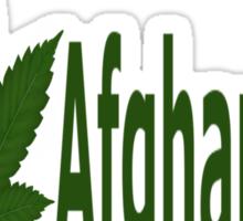 0182 I Love Afghanistan  Sticker