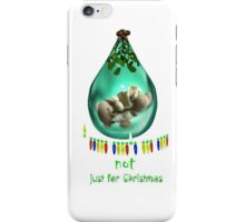 A teddy bear's for life ..... iPhone Case/Skin