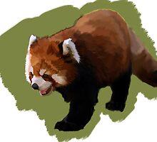 Red Panda  by aWinterMute
