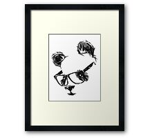 Cool Panda Framed Print