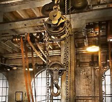 Machinist - In the age of industry by Mike  Savad