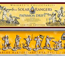 Solar Rangers, Papamoa 5th Drift Core by Ken Wright