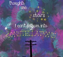 My Thoughts are Stars - from TFIOS by CaylieR