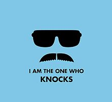 "Heisenberg ""Knocks"" Quote - Blue by lizzybennet"