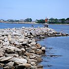 Jetty Rockport MA by Rebecca Bryson