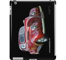 Red 1938 Ford Coupe iPad Case/Skin