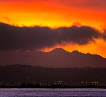 Samish Bay Sunset by Jim Stiles