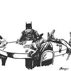 Poker At Drews by Matthew Merys