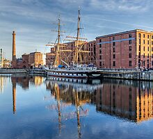 Albert Dock, Liverpool by George Standen