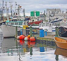 Crowded Harbor by Jack Ryan
