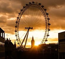 Framing a London Sunset by Georgia Mizuleva