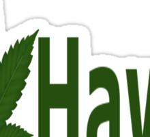 0209 I Love Hawaii Sticker