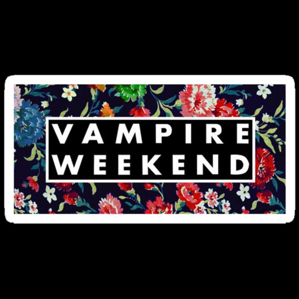 Vampire Weekend Floral by vompires