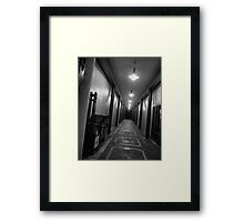 You Are Now Entering... Framed Print