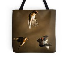 Goldfinch Trio. Tote Bag