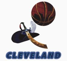 Cleveland Collectors T-Shirt and Stickers by nhk999