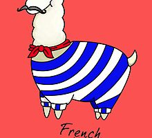Nerdfighters - French the Llama  by charsheee