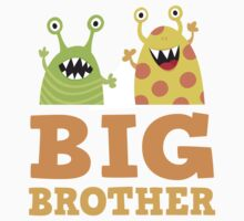 Big brother funny monsters sticker by MheaDesign