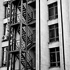 Fire Escape by David Perrin