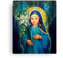 Mother Of God Three-Years-Old  Canvas Print