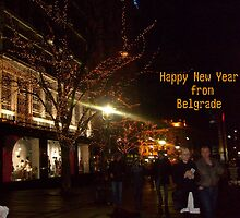 Happy New Year from Belgrade by Ana Belaj