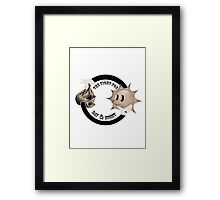 The Fight For Day & Night Framed Print