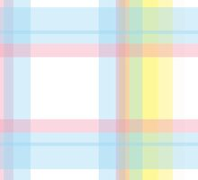 Iridescent palette Plaid check by nikkolash
