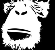 Viva La Evolucion Funny Chimp Che Sticker