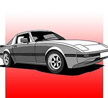 Mazda RX7 by reallyloud