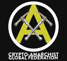 Crypto Anarchist Bitcoin Currency Litecoin Peercoin Worldcoin Primecoin by psmgop